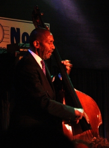 Photo of Ron Carter at The Blue Note in New York City (August 2010) by Mark Bergin
