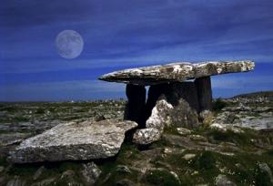 Dolmen on the Burren in Ireland